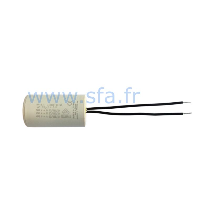 Condensateur de 6.3 µF