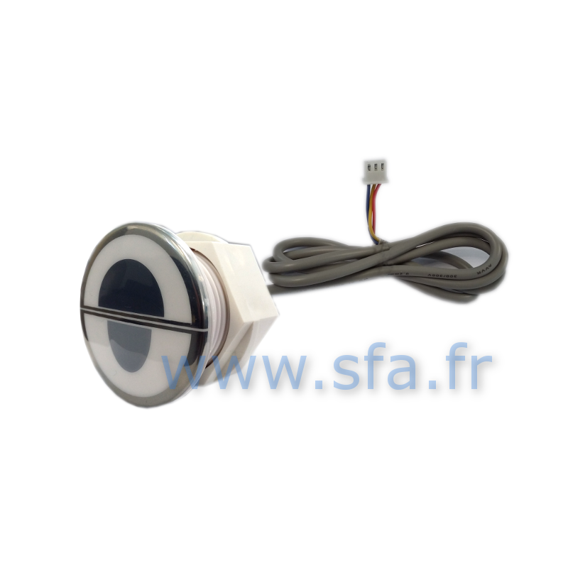 Bouton double chasse